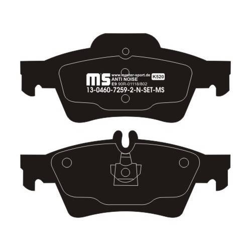 klocki hamulcowe tylne MERCEDES CLS / W212