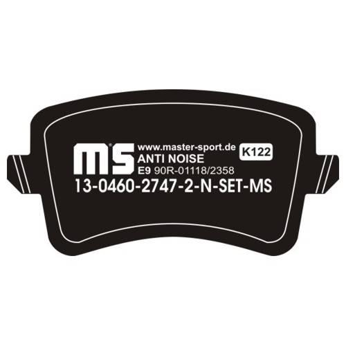 klocki hamulcowe tylne AUDI A4 / A5 / Q5 roczniki po 2007r.