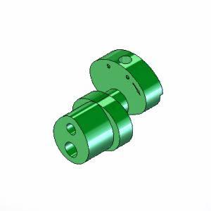 82 Krzywka stalowa 3mm skok średni