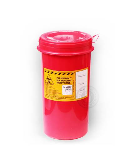 Pojemnik na Odpady Medyczne 1,5L