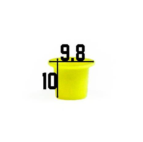 Kubeczki żółte małe 100 szt