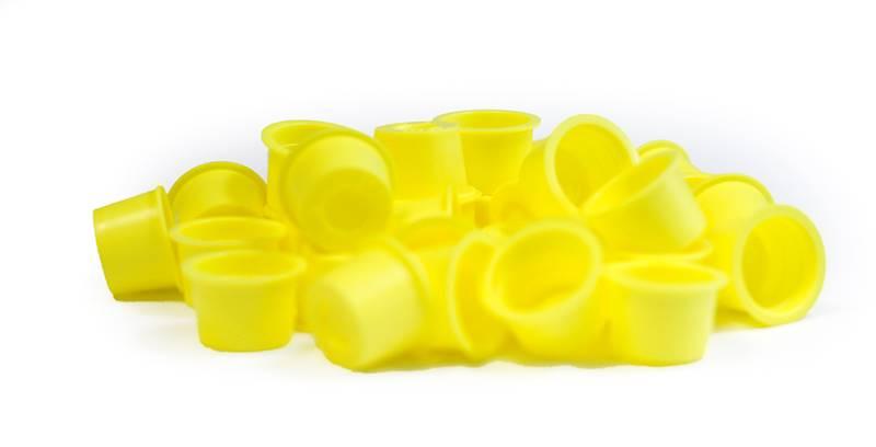Kubeczki żółte mega