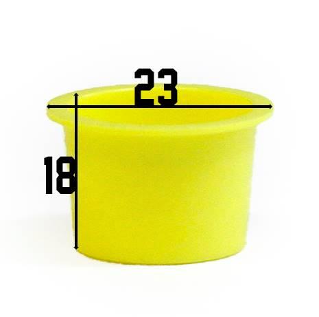 Kubeczki żółte mega 100 szt