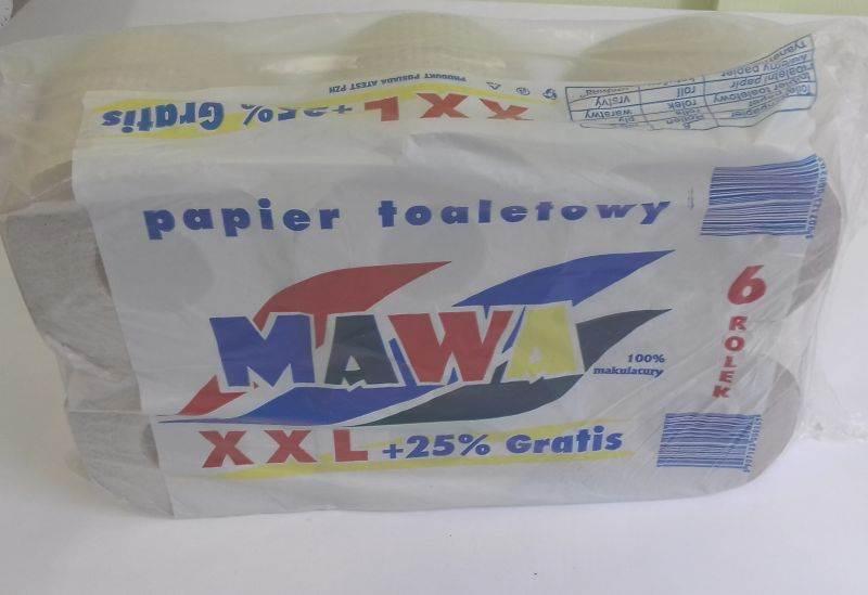 08-Pap.Toaletowy szary MAWA XXL a'6 w.nadr. w/6