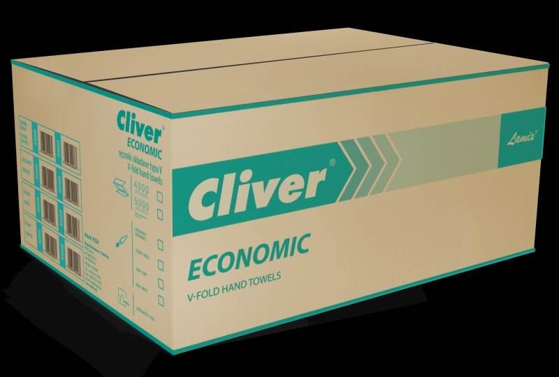 15-Ręcznik ZZ Cliver Economic zielony  /4000