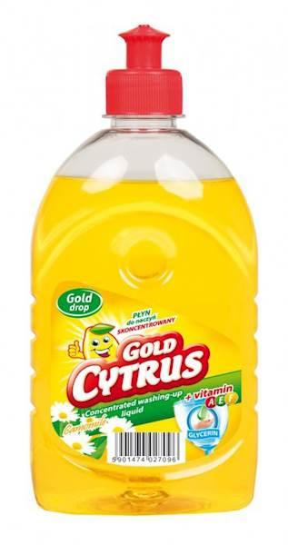 37-Płyn do naczyń Gold-Citrus 500ml cytryna k/12