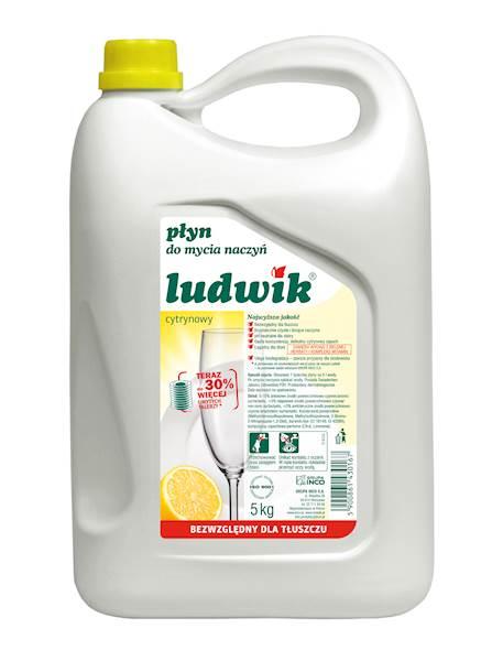 28-Ludwik płyn do naczyń 5kg cytryna
