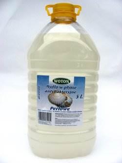 28-Woton mydło perłowe białe 5L