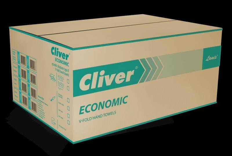 15-Ręcznik ZZ Cliver Economic biały /4000