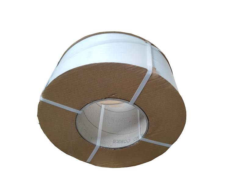 Taśma spinająca PP polipropylen 12x0,8mm Biała /2000m /D