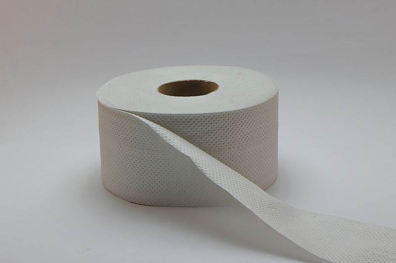 Papier toaletowy JUMBO PTM-190 75% biały 120mb 2w 12 rolek