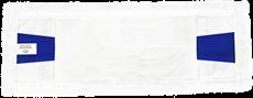 48-Mop nakładka mikrofaza biała DUO 40cm