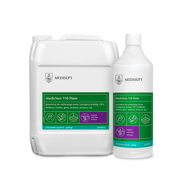 48-Mediclean MC-110 1L mycie podłóg ow.leśne k/12