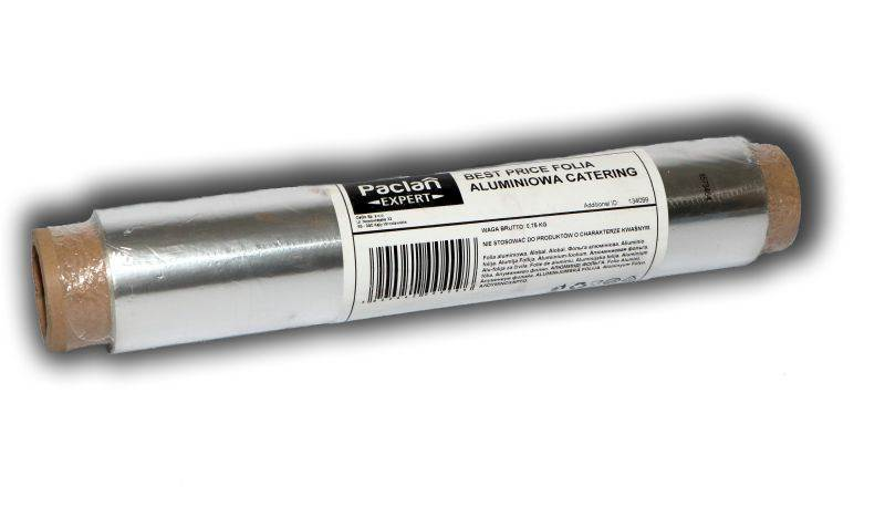 OD-Folia aluminiowa cateringowa luz k/6