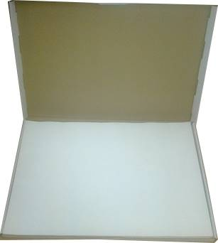 08-Papier 2str. silikonowany biały 30x40cm k/a'500