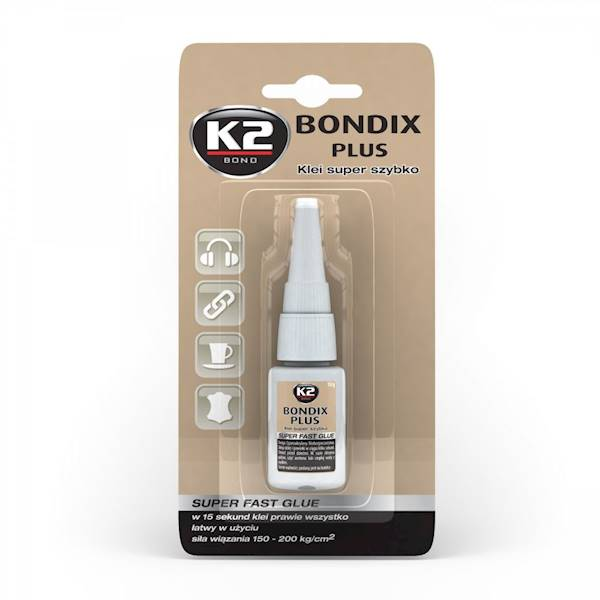 B101 BONDIX PLUS JEDNOSKŁADNIKOWY MOCNY KLEJ 10G.