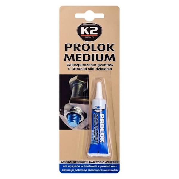 B150 PROLOK MEDIUM K2 6ML. DO BLOKADY ŚRUB NIEBIESKI
