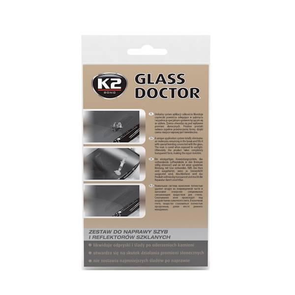 B350 GLASS DOCTOR 80ML. ZESTAW DO NAPRAWY SZYB I REFLEK