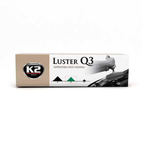 L3100 LUSTER Q3 ZIELONY 100 SUPER SZYBKA PASTA DO POLERK