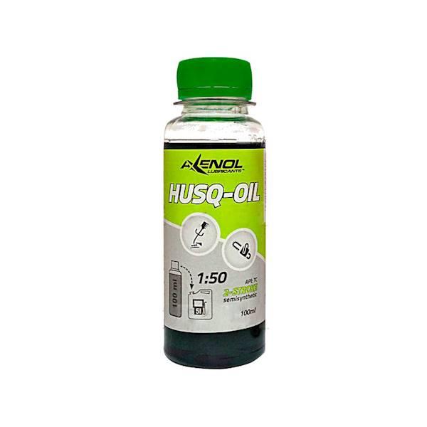 HUSQ  / HAX 100ML. ZIELONY  OLEJ 2T