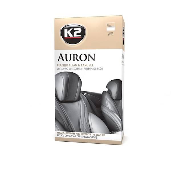 G420 K2 Auron - Zestaw do pielęgnacji skórzanej tapicerki