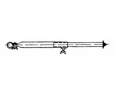 Rurka przedsionka 170-250cm stal 25mm