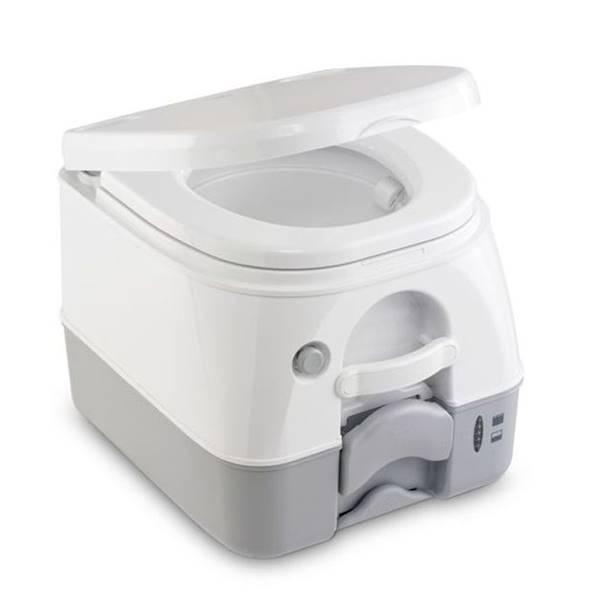 Toaleta przenośna 972 biało/szara Dometic