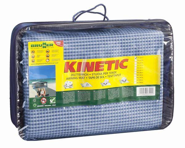 Wykładzina przedsionka 700x250cm - Kinetic Niebieska
