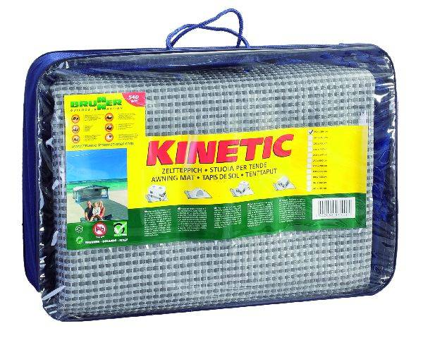 Wykładzina przedsionka 500x250cm - Kinetic Szara