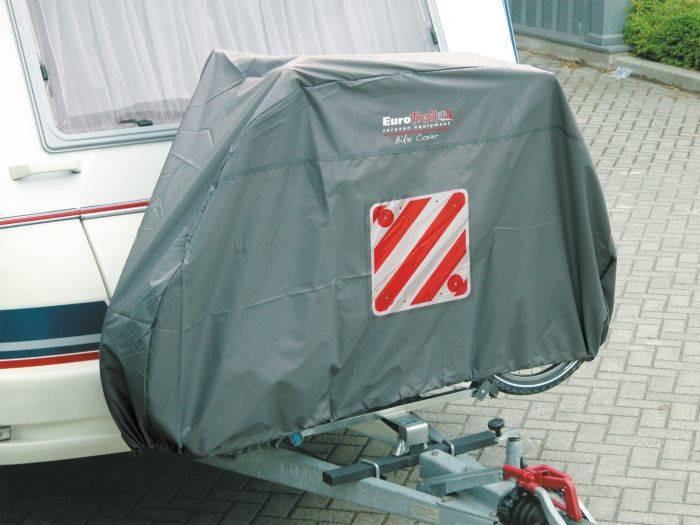 Pokrowiec na bagażnik rowerowy - 2 Bike Cover Front Euro Trail