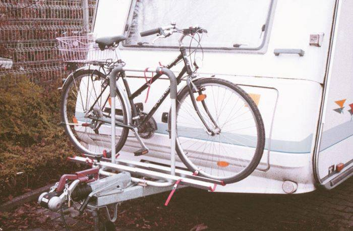 Bagażnik rowerowy - Polo na 2 rowery