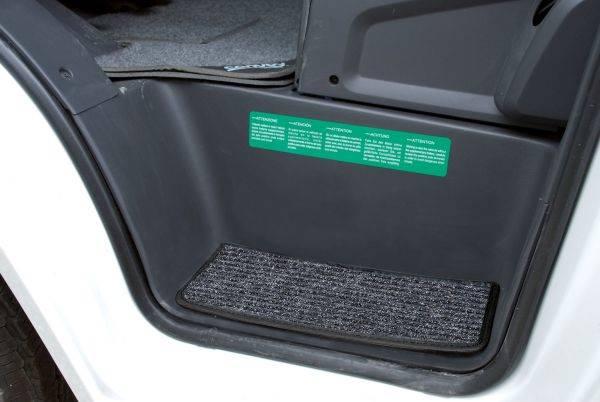 Dywanik na schodek samochodu Ford Transit - Stepper Micro Ford Transit 2006 ->