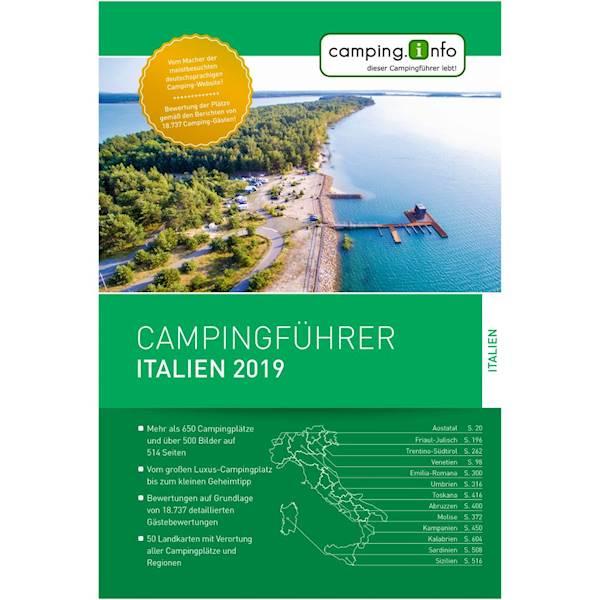 Przewodnik camping.info Włochy 2019