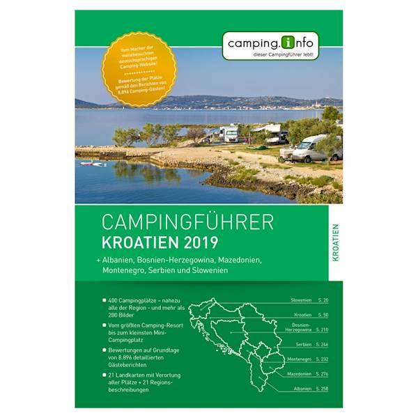 Przewodnik camping.info Chorwacja 2019