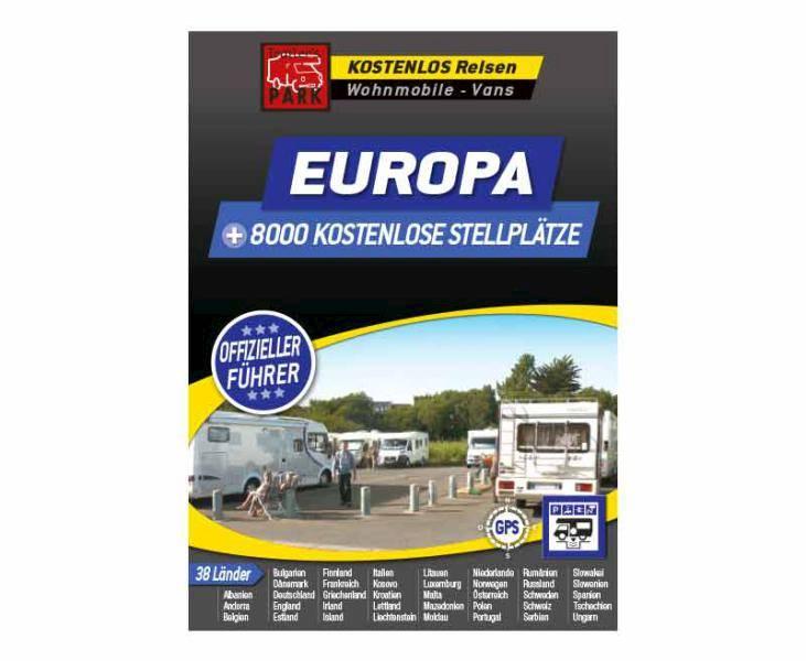 Michelin darmowe miejsca postojowe w Europie