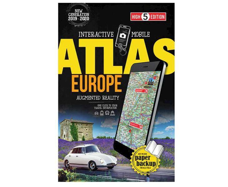 Interaktywny Mobilny Atlas Europa 2019/2020