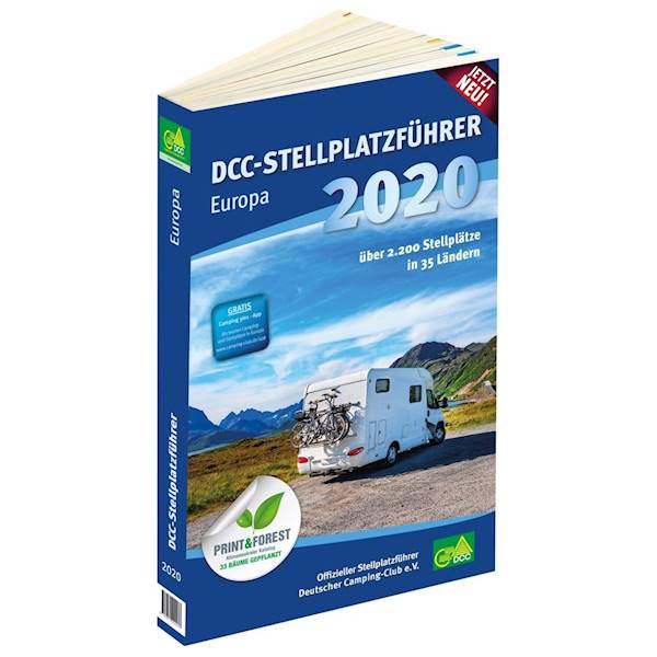 Przewodnik po miejscach postojowych DCC Europa