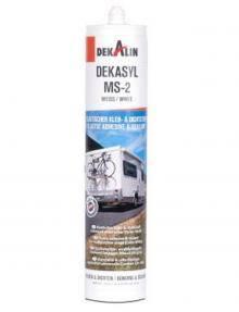 Elastyczny klej i uszczelniacz MS-2 Polimer 290ml czarny - Dekalin