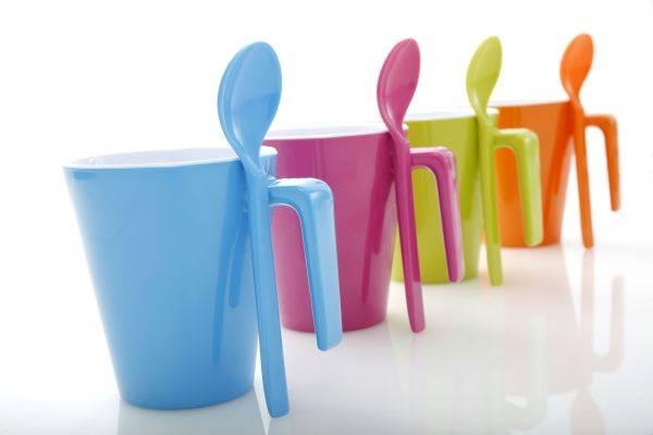 Kubek z łyżeczką - Mug&Spoon