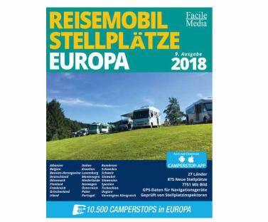 Reisemobil Stellplätze Europa 2018