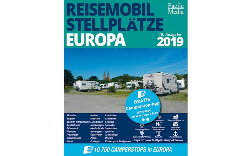Przewodnik po miejscach postojowych Europa 2019
