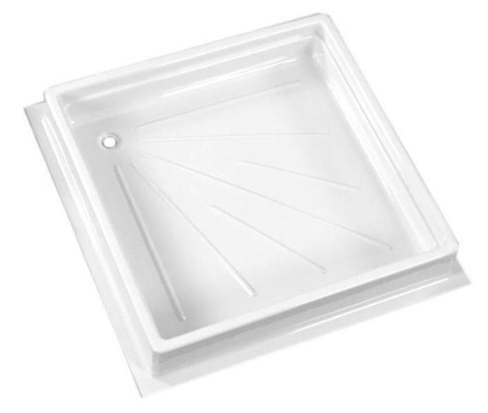 Brodzik prysznicowy 680x680xh102mm - Biały
