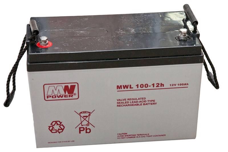 Akumulator 12V/100Ah MWLG100-12