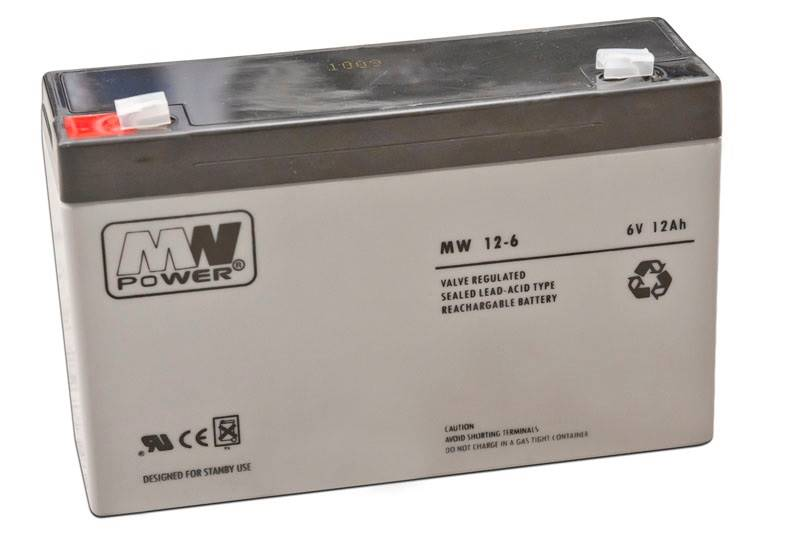 Akumulator 6V/12A MPL
