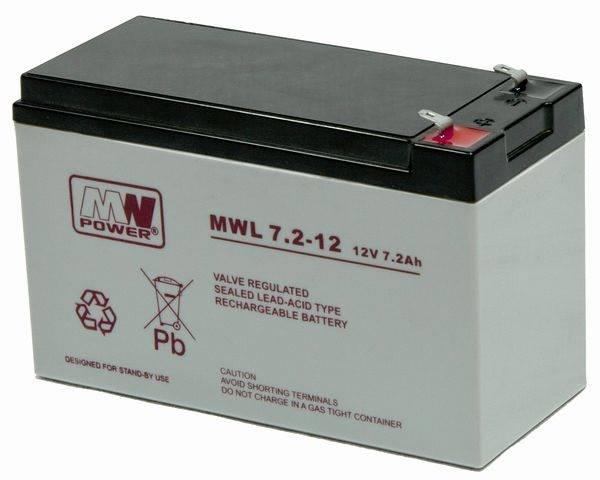 Akumulator 12V/7Ah MPL