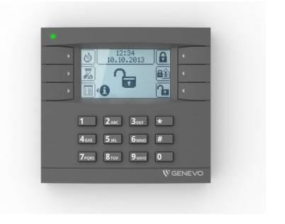 Manipulator PRIMA LCD GY/WH Genevo