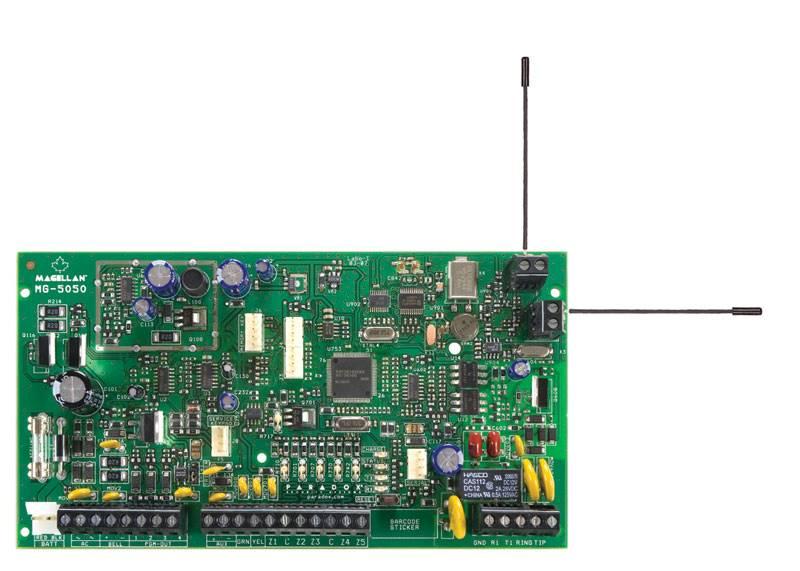 MG-5050 płyta centrali
