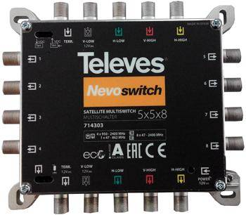 5x8 TELEVES  multiswitch