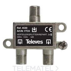 Rozgałęźnik 1/2 DC televes