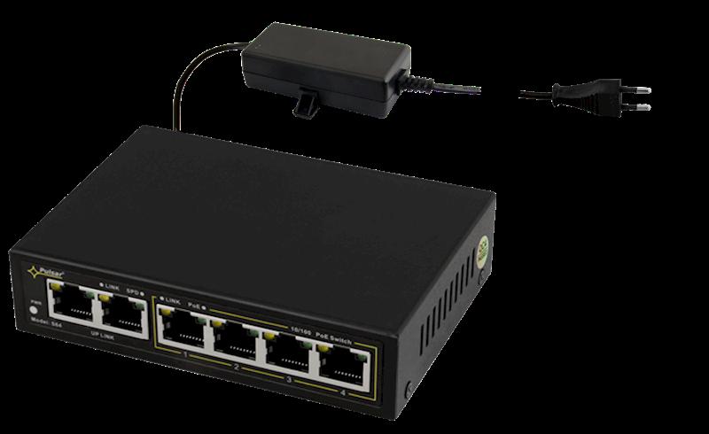 Switch S64 4xPoE